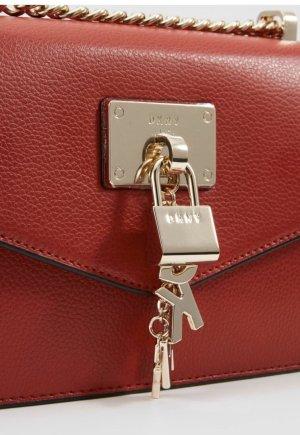 DKNY Crossbody bag red leather