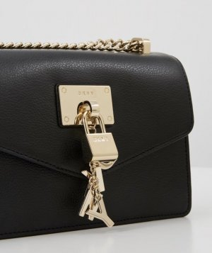 DKNY Crossbody bag black leather