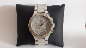 DKNY Damenchronograph Edelstahl mit Keramikband NY8505 - gepflegter Zustand