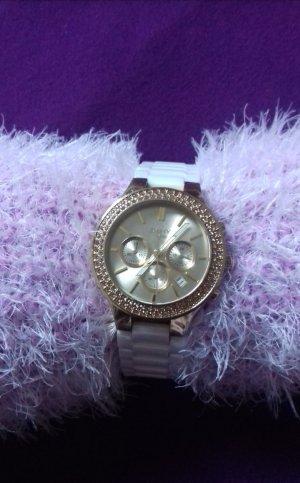 DKNY Horloge wit-goud
