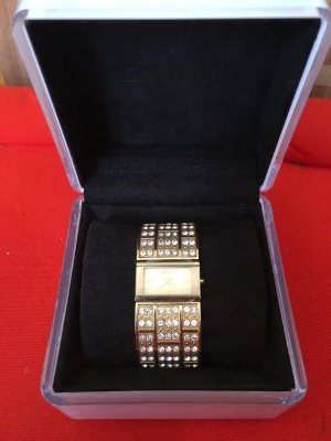 DKNY Watch Clasp gold-colored-sand brown