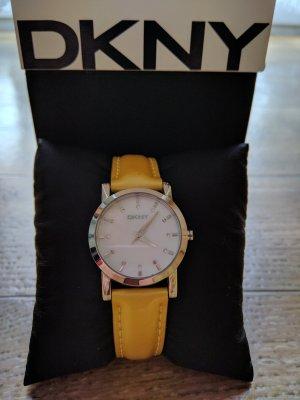 DKNY Damenuhr Neu ✓ Leder