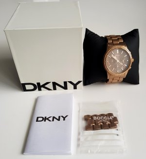 DKNY Watch With Metal Strap bronze-colored-rose-gold-coloured