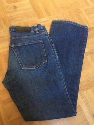 Donna Karan Low Rise Jeans dark blue