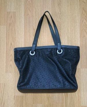 DKNY Borsa shopper nero-argento