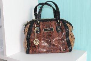 DKNY Donna Karan Tasche Bronze Gold Braun