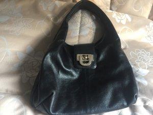 DKNY echte schwarze Tasche mit goldener Schnalle