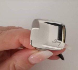 DKNY EDELSTAHL Ring Gr.58