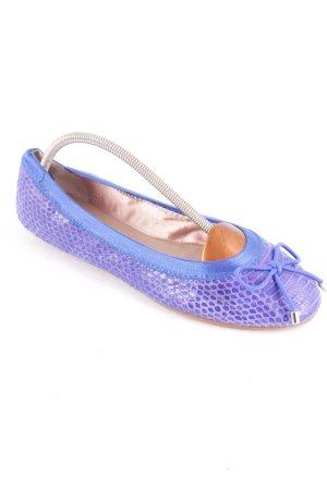 DKNY faltbare Ballerinas blau schlichter Stil