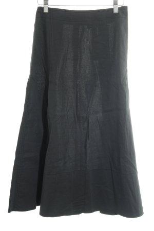 DKNY Faltenrock schwarz Casual-Look