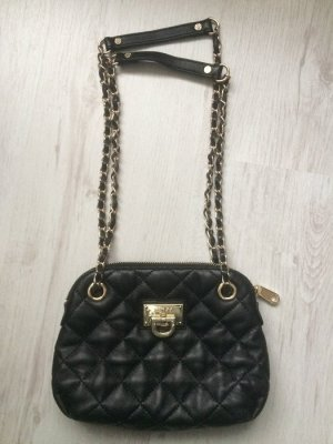 DKNY Gansevoort Crossbody Quilted Nappa Black Damen Schultertasche Leder Tasche