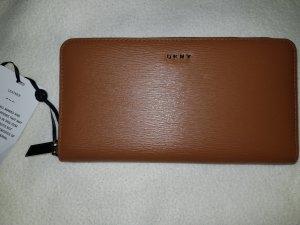 DKNY Portefeuille chameau cuir