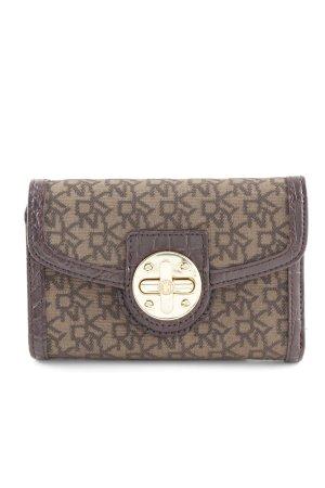 DKNY Wallet monogram pattern elegant