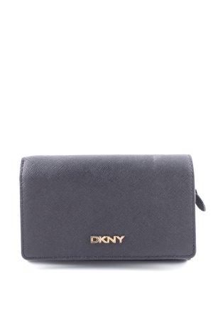 DKNY Portefeuille noir élégant