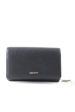 DKNY Geldbörse schwarz-goldfarben Eleganz-Look