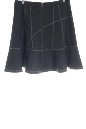 DKNY Klokrok zwart-khaki feest stijl