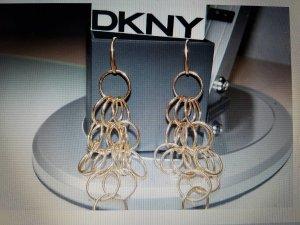 DKNY goldene Ohrringe