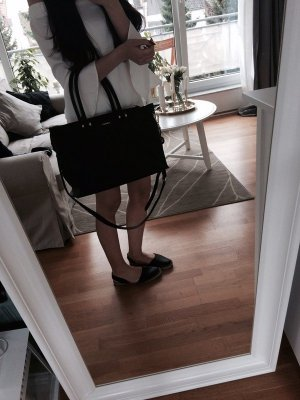 DKNY - Große Handtasche aus Saffiano Leder
