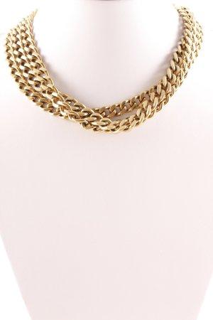 DKNY Halskette goldfarben extravaganter Stil
