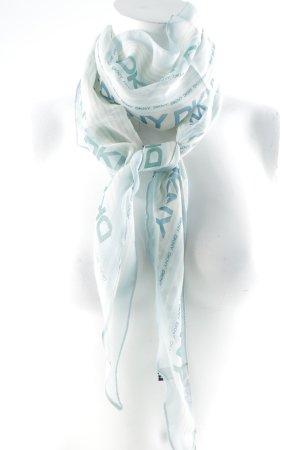 DKNY Fazzoletto da collo motivo a righe elegante