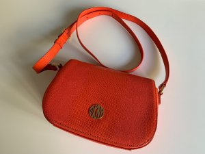 DKNY Handbag orange leather