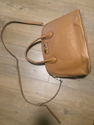 DKNY Carry Bag beige leather
