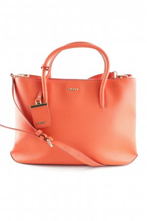 "DKNY Handtasche ""Bryant Park Saffiano City Zip Orange"" dunkelorange"