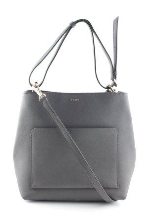"DKNY Handtasche ""Bryant Park Soft Saffiano Bucket Bag Dark Charcoal"""