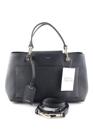 "DKNY Handtasche ""Bryant Park Soft Saffiano Satchel Small Black"" schwarz"