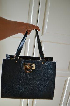 DKNY Handtasche (dunkel blau/grün)