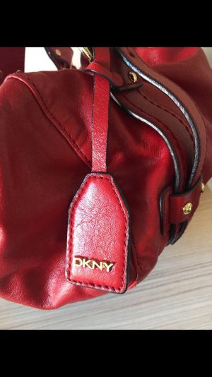 DKNY Handtasche Dunkelrot