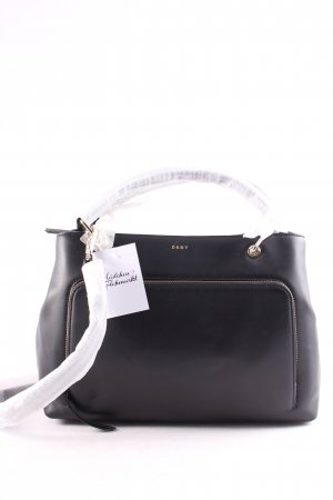 "DKNY Handtasche ""Greenwich Smooth Calf Bag Black "" schwarz"