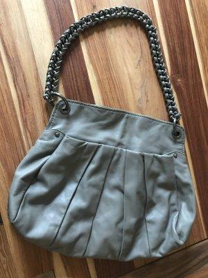 DKNY Handtasche in grauem Leder