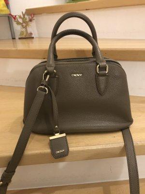 Donna Karan Carry Bag beige-grey leather