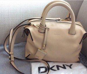 DKNY Handtas beige Leer
