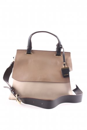 "DKNY Handtasche ""Lexington Wide Shoulder Taupe/Black"""