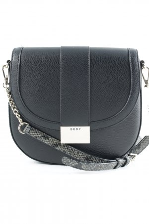 "DKNY Handtasche ""Medium Flap Saddle Crossbody Black"" schwarz"