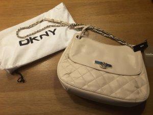 DKNY Handtasche neu Creme Nude quilted Nappa Gansevoort