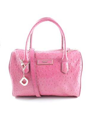 DKNY Handtasche pink-goldfarben Casual-Look