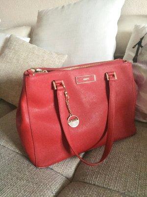 DKNY Handtasche Rot echtes Leder - Sommer