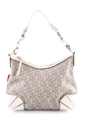 DKNY Handtasche Schriftzug gestickt Elegant