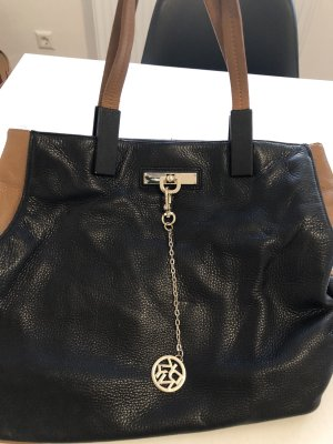 DKNY Carry Bag black-brown leather
