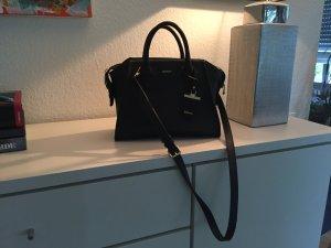 DKNY Handtasche schwarz Leder