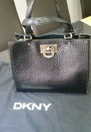 DKNY Zakentas zwart Leer