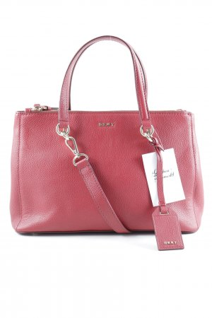 """DKNY Handtasche """"Small Shopper Scarlet"""" dunkelrot"""