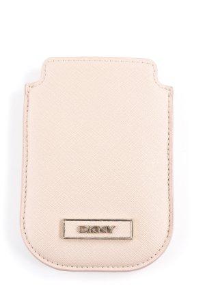 DKNY Hoesje voor mobiele telefoons stoffig roze casual uitstraling