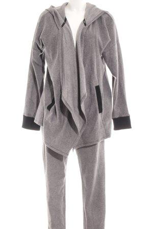 DKNY Chándal gris moteado mullido