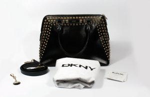 DKNY Carry Bag black leather