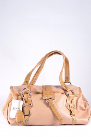 DKNY Carry Bag camel street-fashion look
