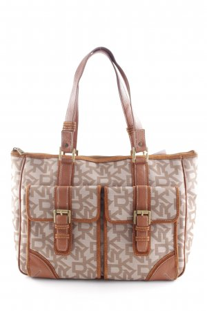 DKNY Carry Bag cream-cognac-coloured classic style